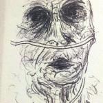 Wie es endet, Kugelschreiberzkizze, November 2012